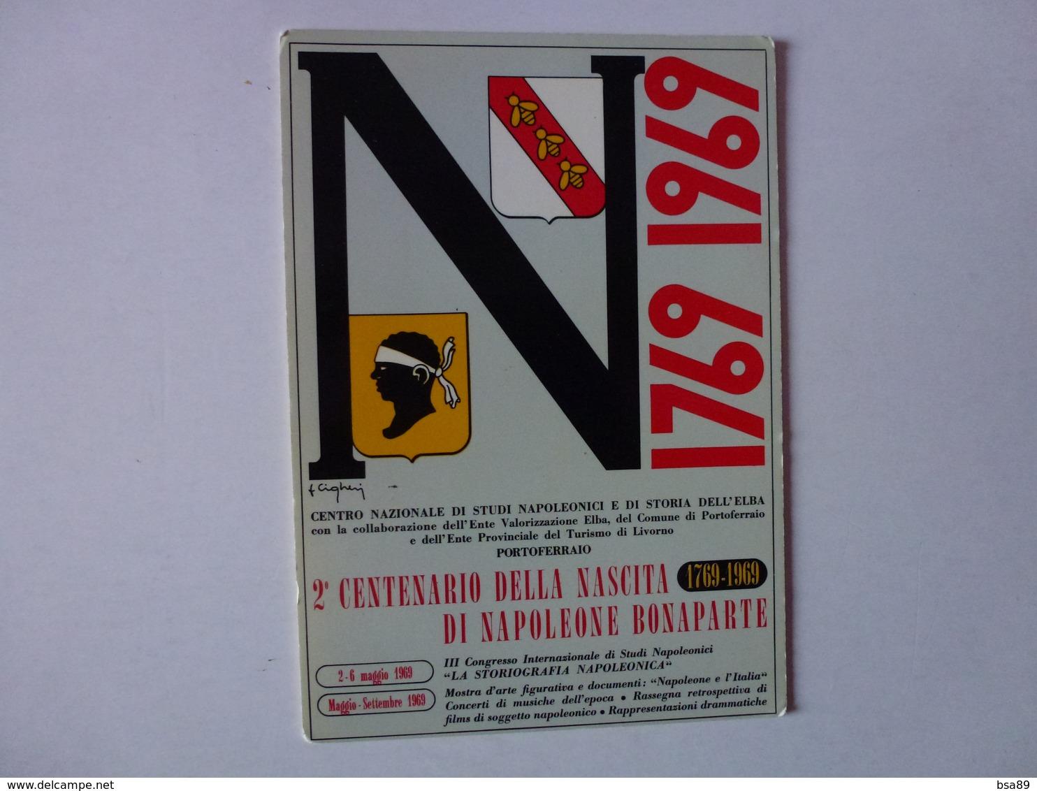 CPM, 2e CENTENAIRE DE LA NAISSANCE DE NAPOLEON BONAPARTE, 1769/1969,VOIR SCAN - France