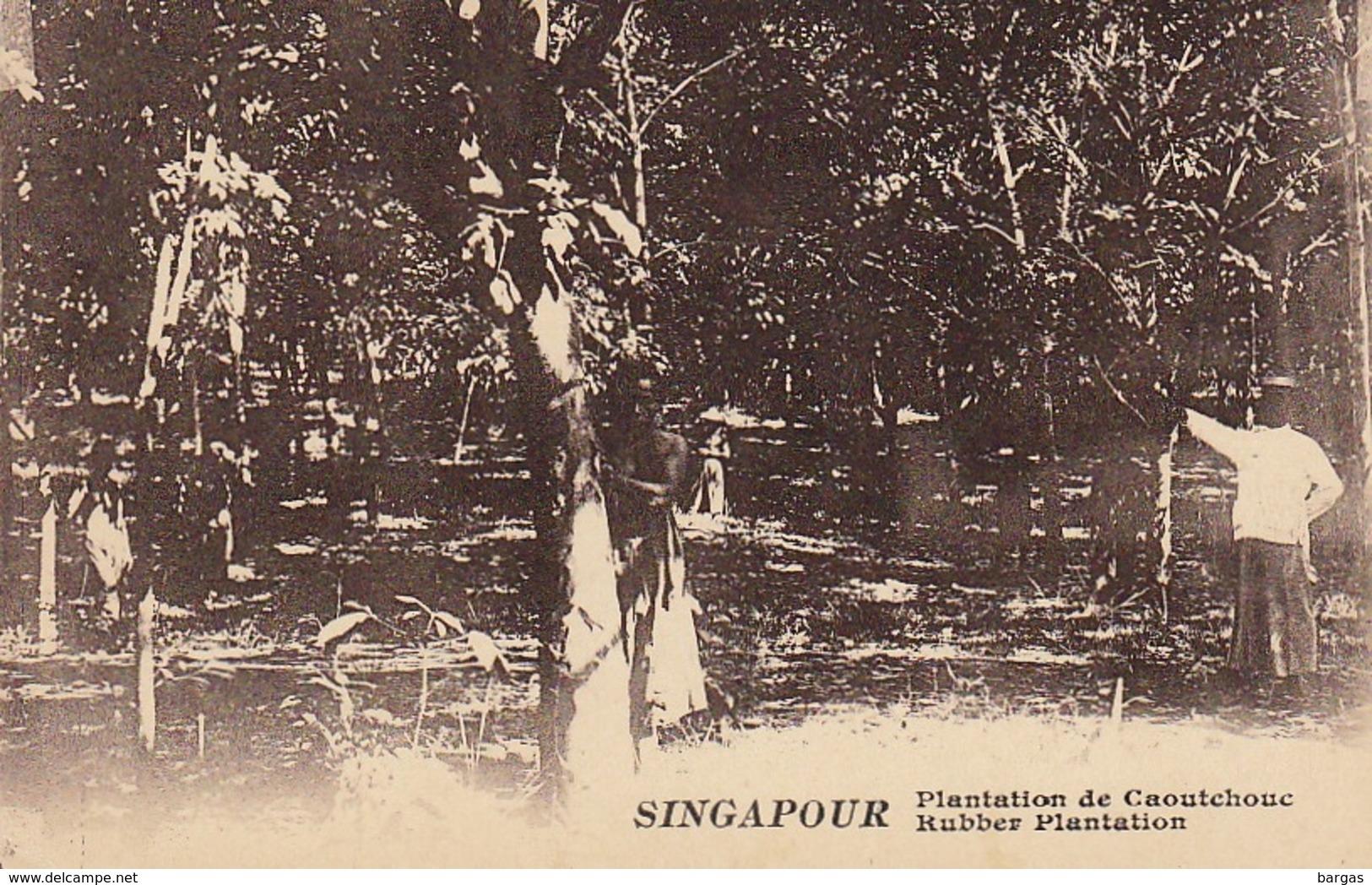 7 Cartes Postales Singapour Singapore - Singapour