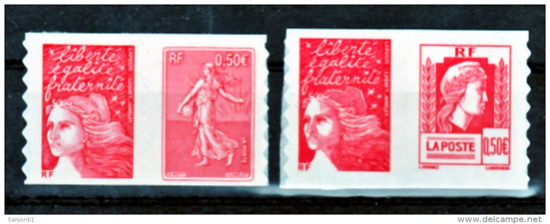 France   36 P 43 P Marianne De Carnet  Neuf ** TB MNH Sin Charnela Faciale 3.56 - Luchtpost
