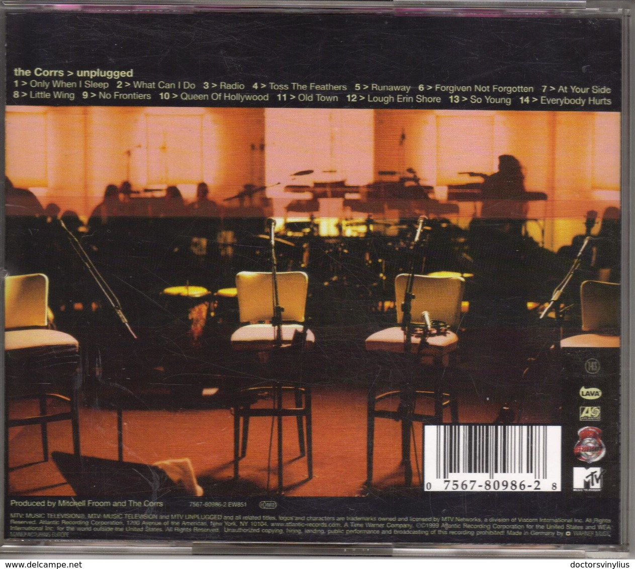 """THE CORRS """"UNPLUGGED"""" CD 1999 - Musik & Instrumente"""