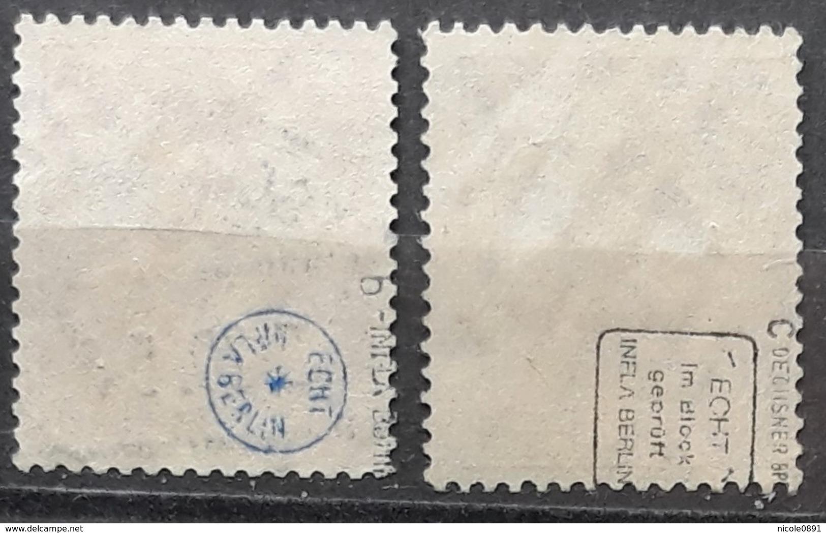 DR Mi. 103 B +c Gestempelt, Geprüft, Mi. 150,-€ (1315) - Used Stamps