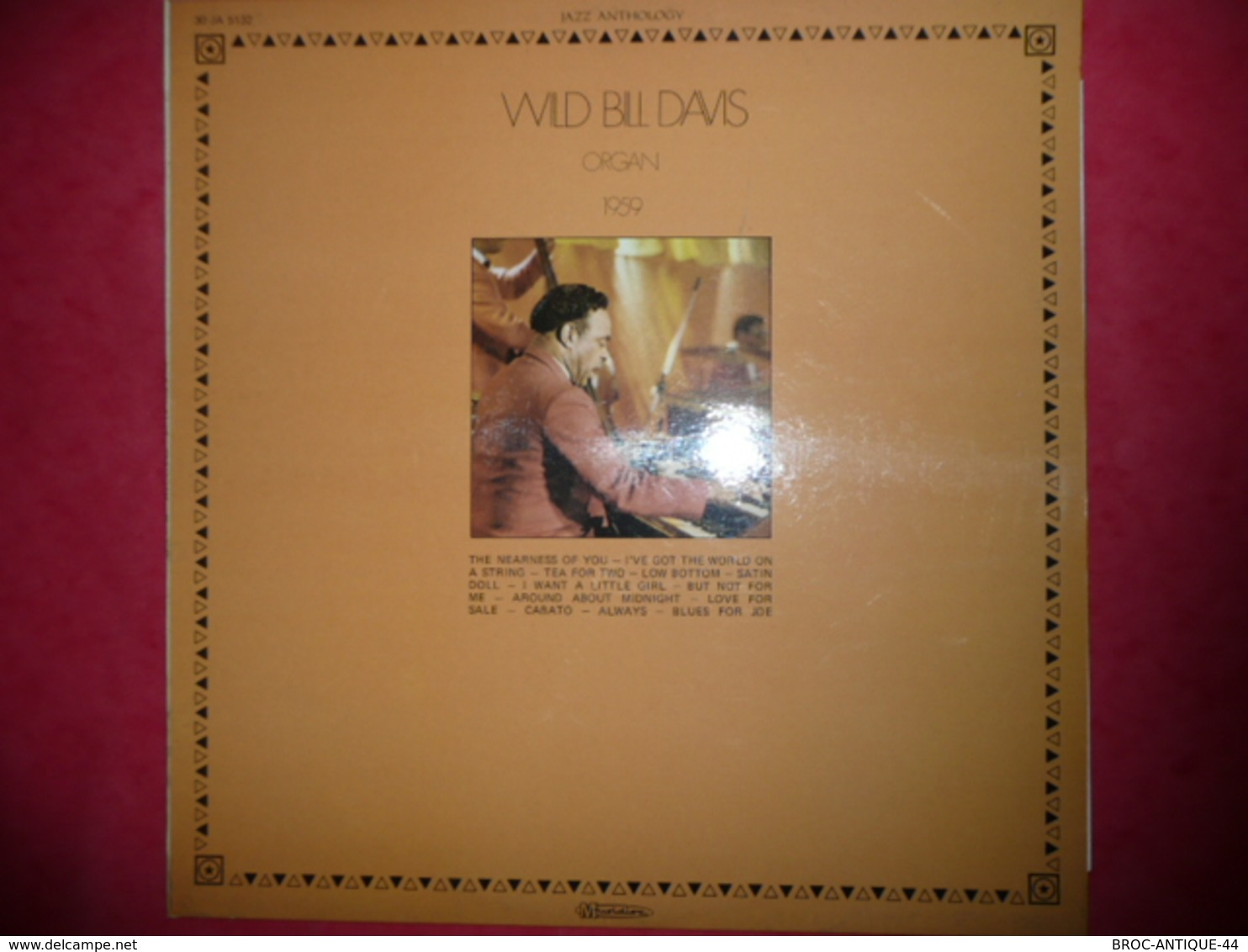 LP N°1659 - WILD BILL DAVIS - ORGAN 1959 - COMPILATION 12 TITRES - Jazz