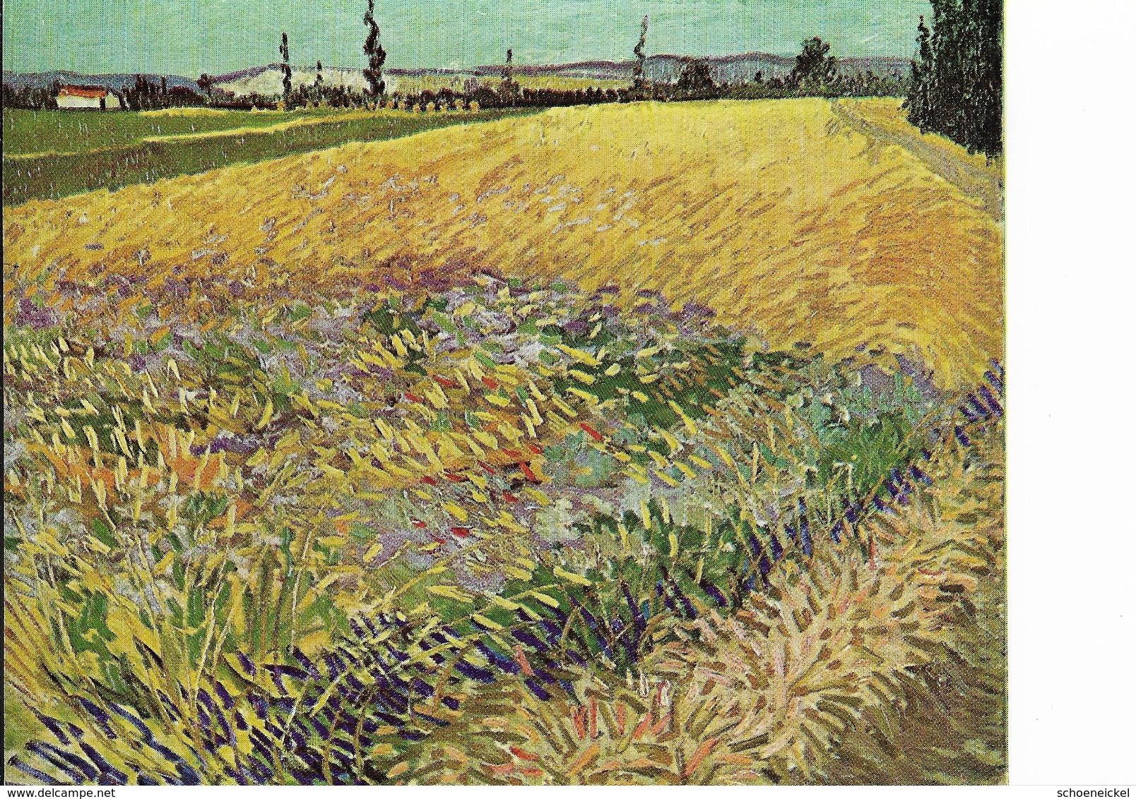 Vincent Van Gogh - Kornfeld Bei Arles - Illustrateurs & Photographes