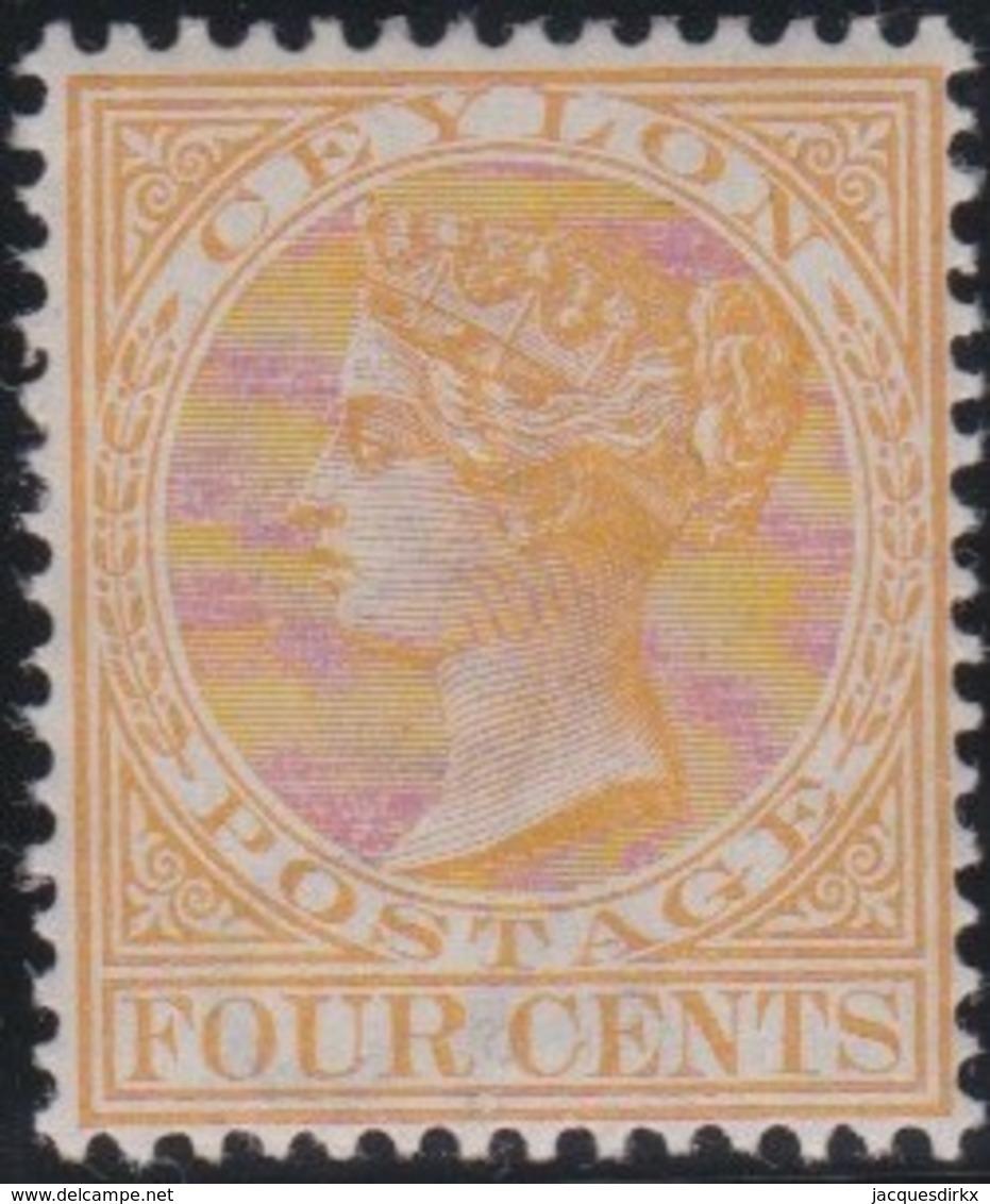 Ceylon     .    SG        .    258         .         *      .      Mint-hinged   .   /   .   Ongebruikt - Ceylon (...-1947)
