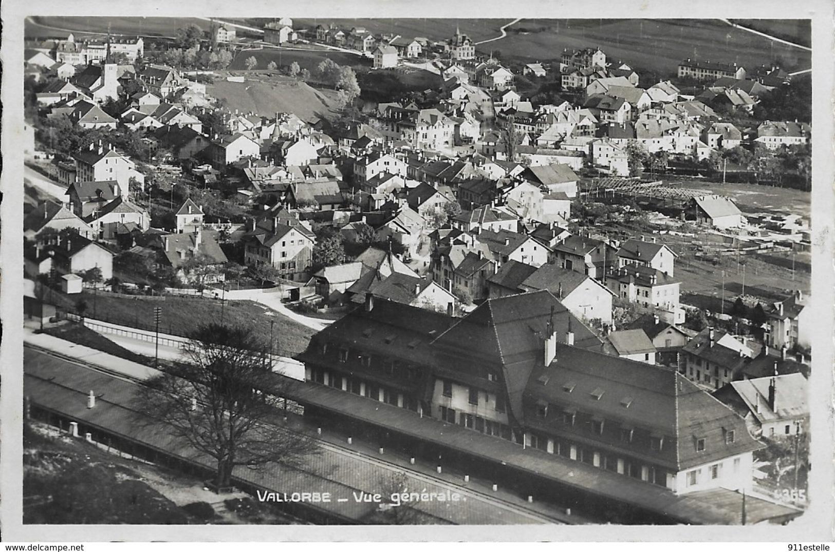Suisse  VALLORBE   . VUE GENERALE - VD Vaud