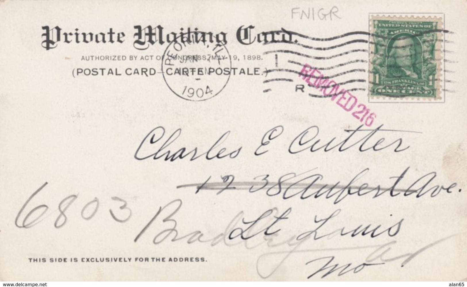 Peoria Illinois, Multi-view Of Town Main Street, C1900s Vintage Private Mailing Card Postcard - Peoria