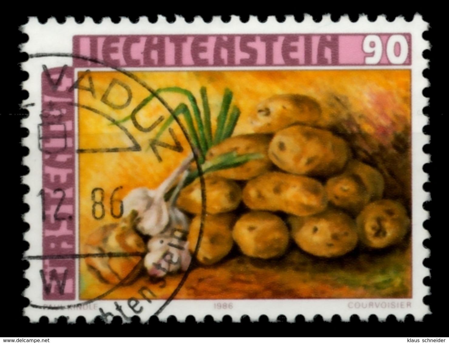 LIECHTENSTEIN 1986 Nr 906 Zentrisch Gestempelt X6E6622 - Liechtenstein