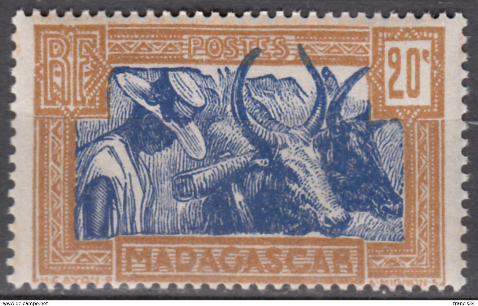 N° 167 - X X - ( C 1926 ) - Gomme Tropicale - Madagaskar (1889-1960)