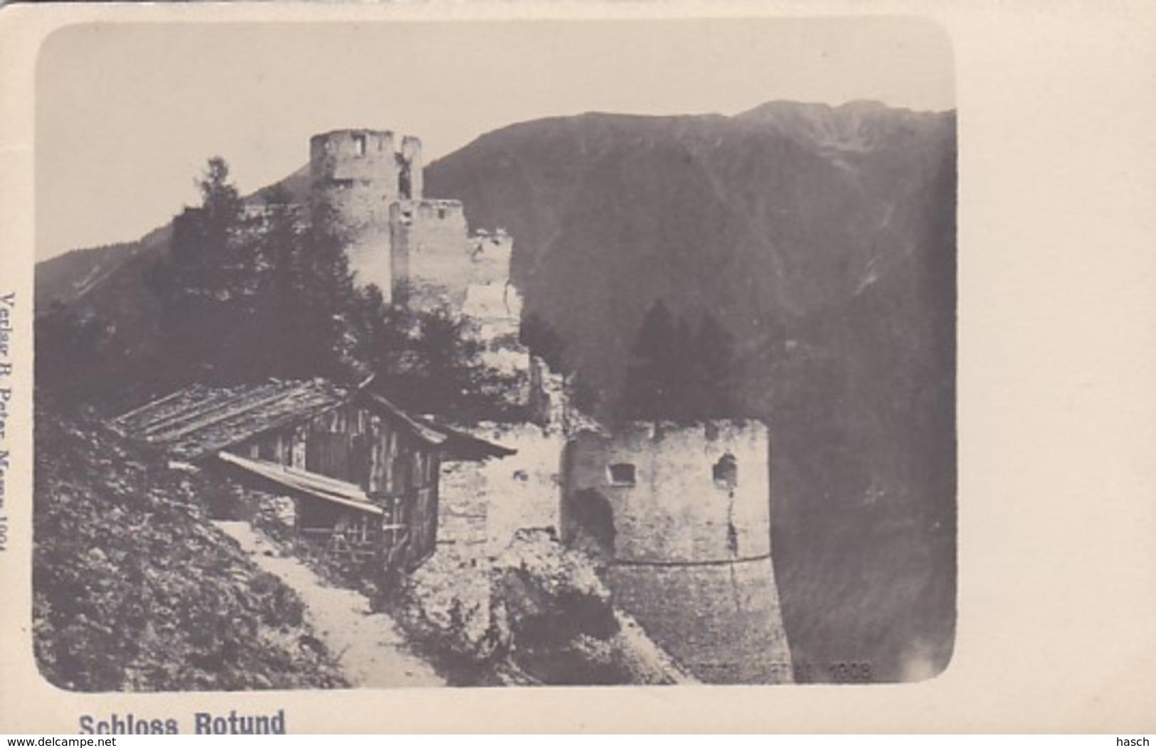 4811206Schloss Rotund. (Verlag B. Peter, Meran 1904.) - Bolzano