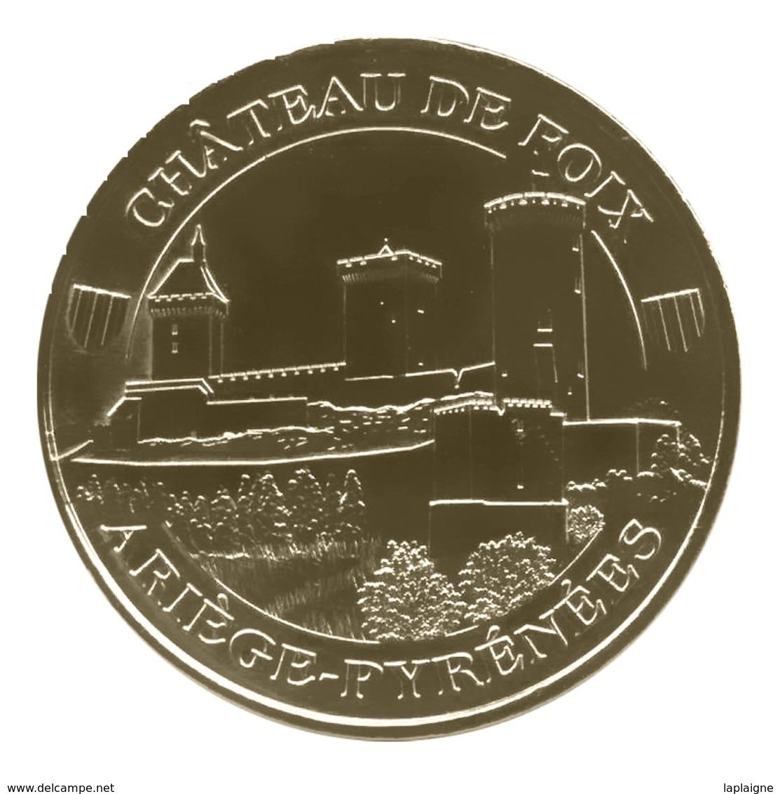 Monnaie De Paris , 2011 ,Foix , Château De Foix , 2 Blasons - Other