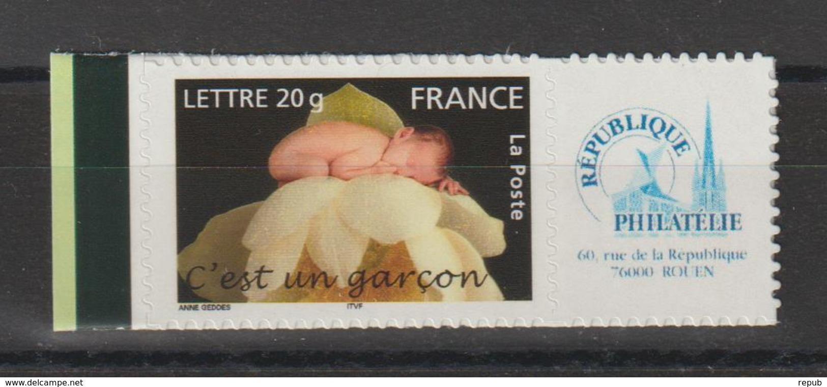 France Personnalisés 2005 Garçon 3805B ** MNH - Francia