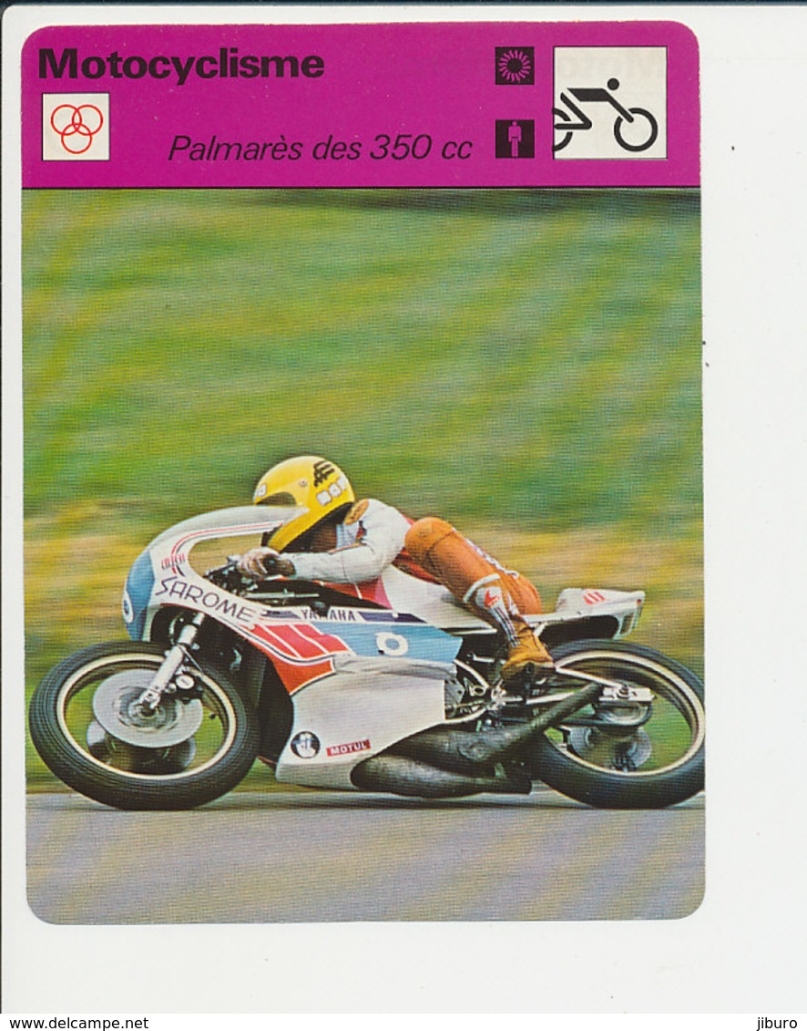 Palmarès 350 Cc Takazumi Katayama En Photo (Agostini Hailwood Redman Cecotto Surtees Fiche Motocyclisme Sport FICH-Moto2 - Sports