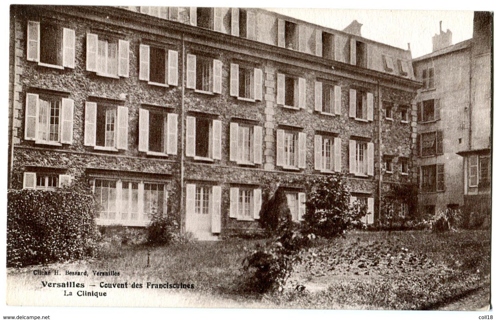 CPA 78 VERSAILLES Couvent Des Franciscaines - La Clinique - Versailles