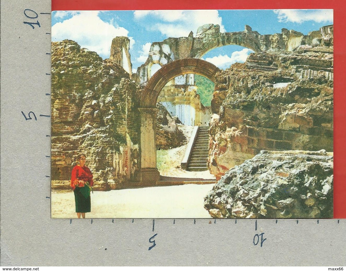 CARTOLINA NV GUATEMALA - Ruinas De La Ciudad De ANTIGUA - 10 X 15 - Guatemala