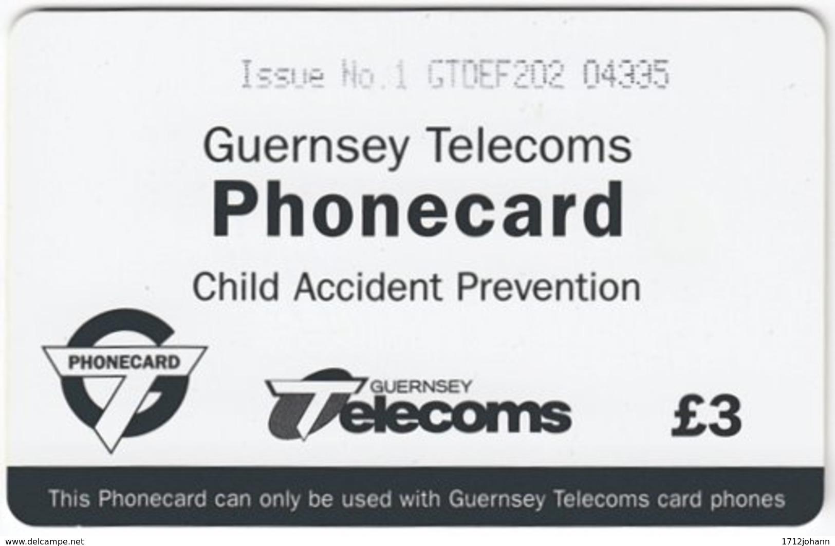 GUERNSEY A-055 Chip Telecom - Traffic, Safety - Used - Ver. Königreich