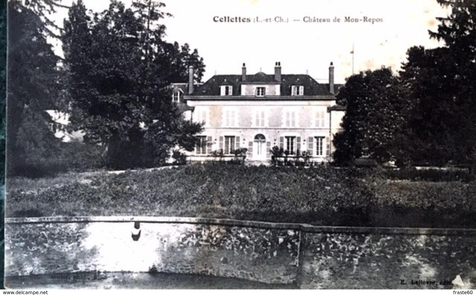 Cellettes - Chateau De Mon-Repos - France
