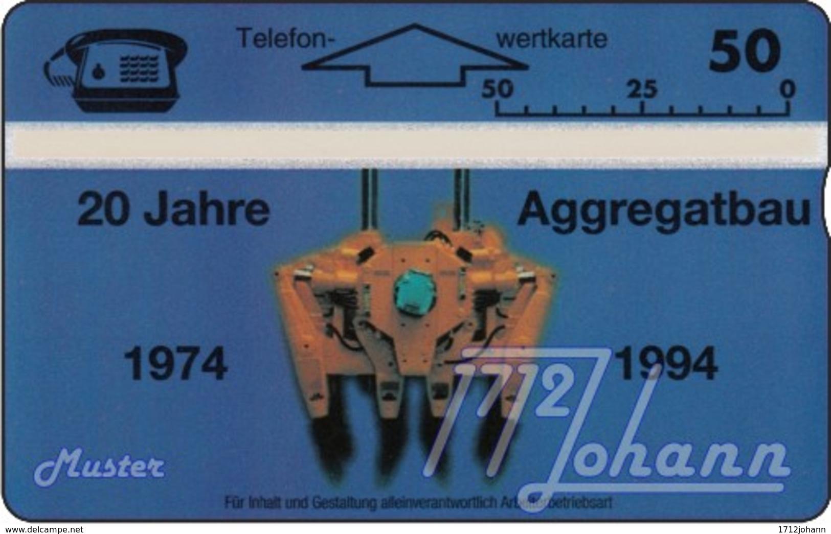 AUSTRIA Private: *Aggregatebau, 20 Jahre* - SAMPLE [ANK P349] - Oesterreich