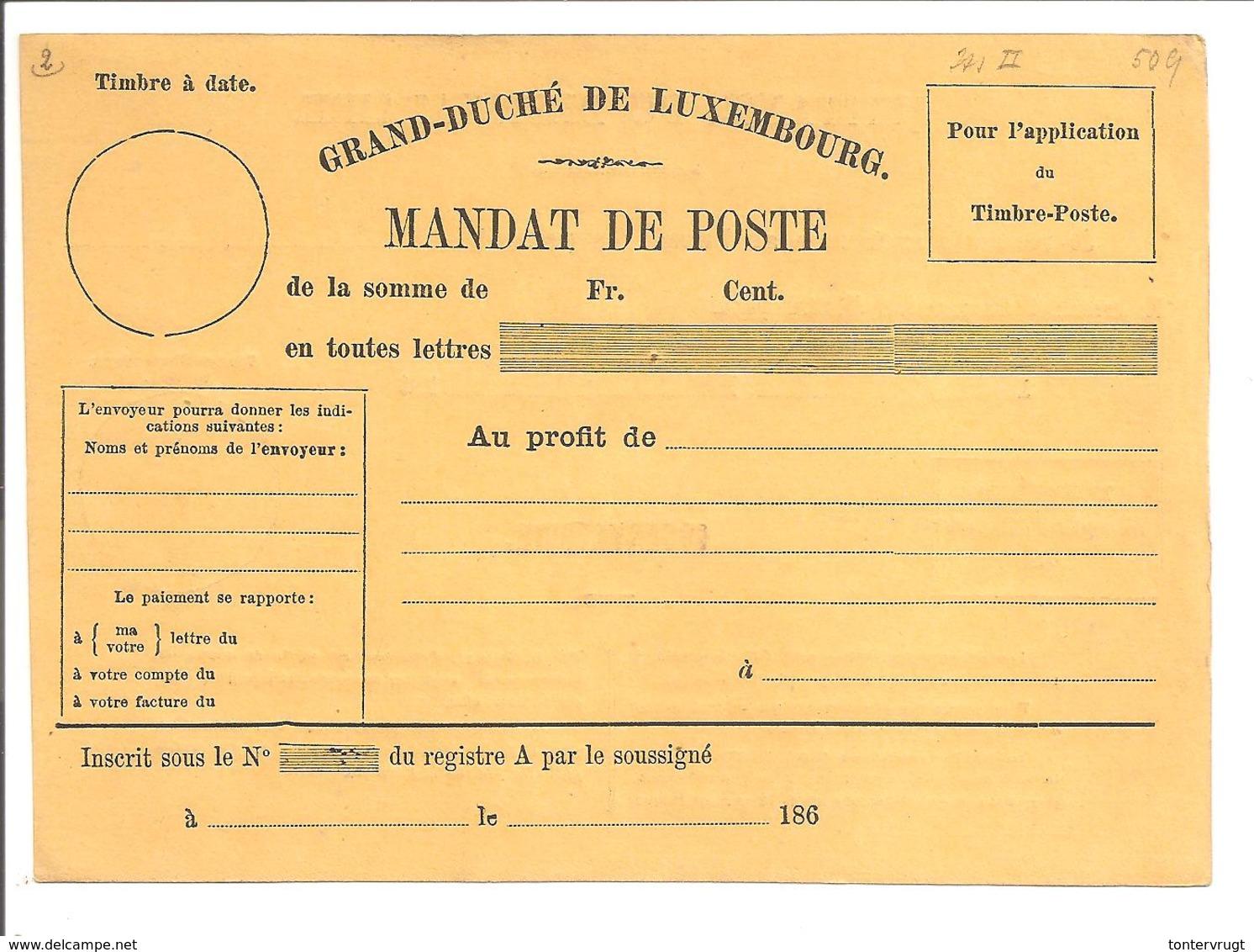 MANDAT-POSTE INTERNATIONAL186 Jaune - Ganzsachen