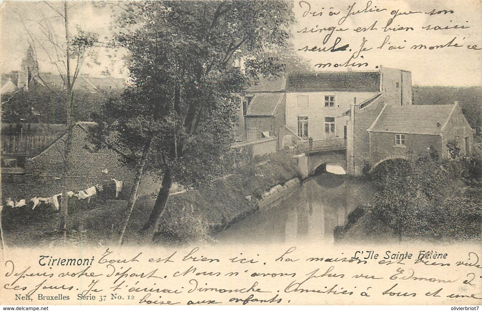 Belgique - Tirlemont - L' Ile Sainte Hélène - Tienen
