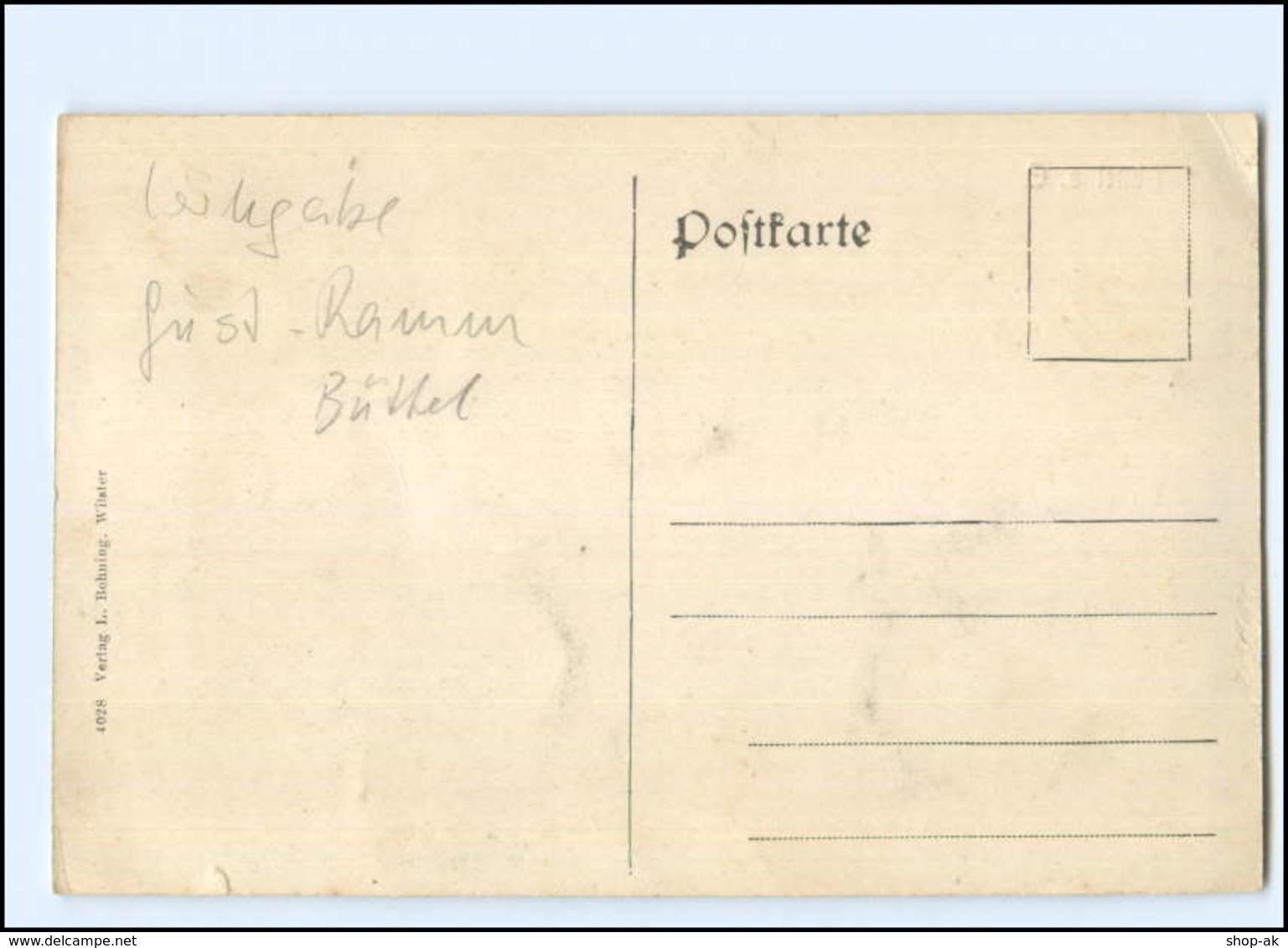 U9499-2211/ Büttel A. E.  Kanal Zugefroren , Eislaufen AK Ca.1910 - Allemagne