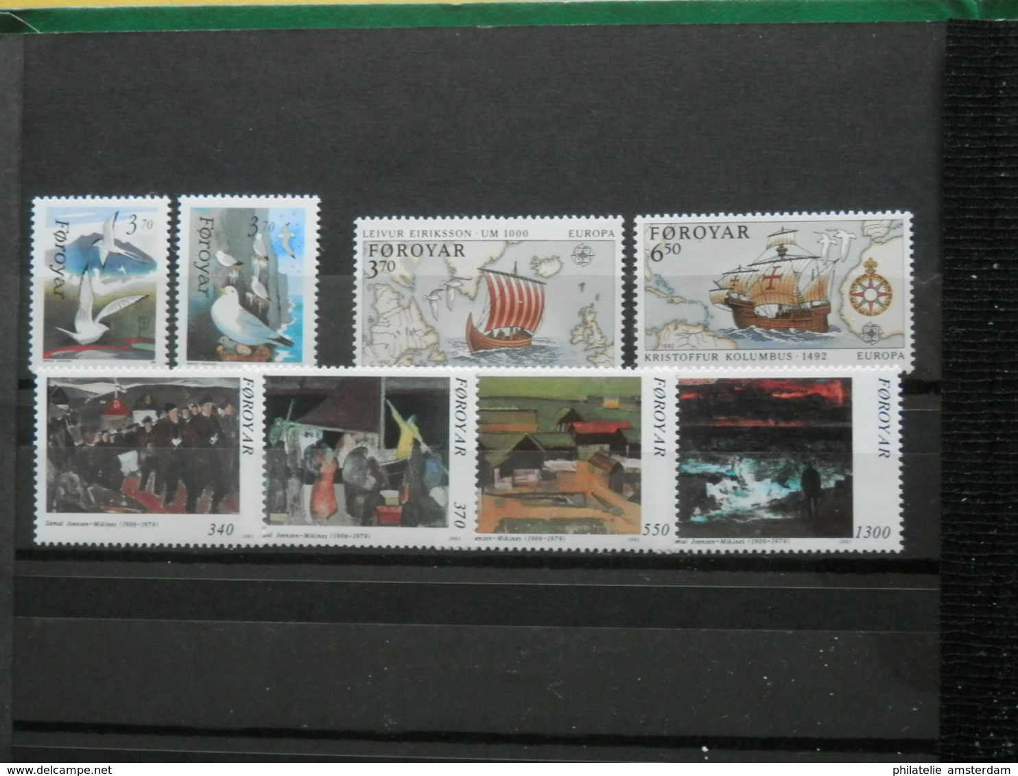 DENMARK, GREENLAND, FAROE ISLANDS 1942-2003 - MNH Collection In Stockbook - Collections (with Albums)