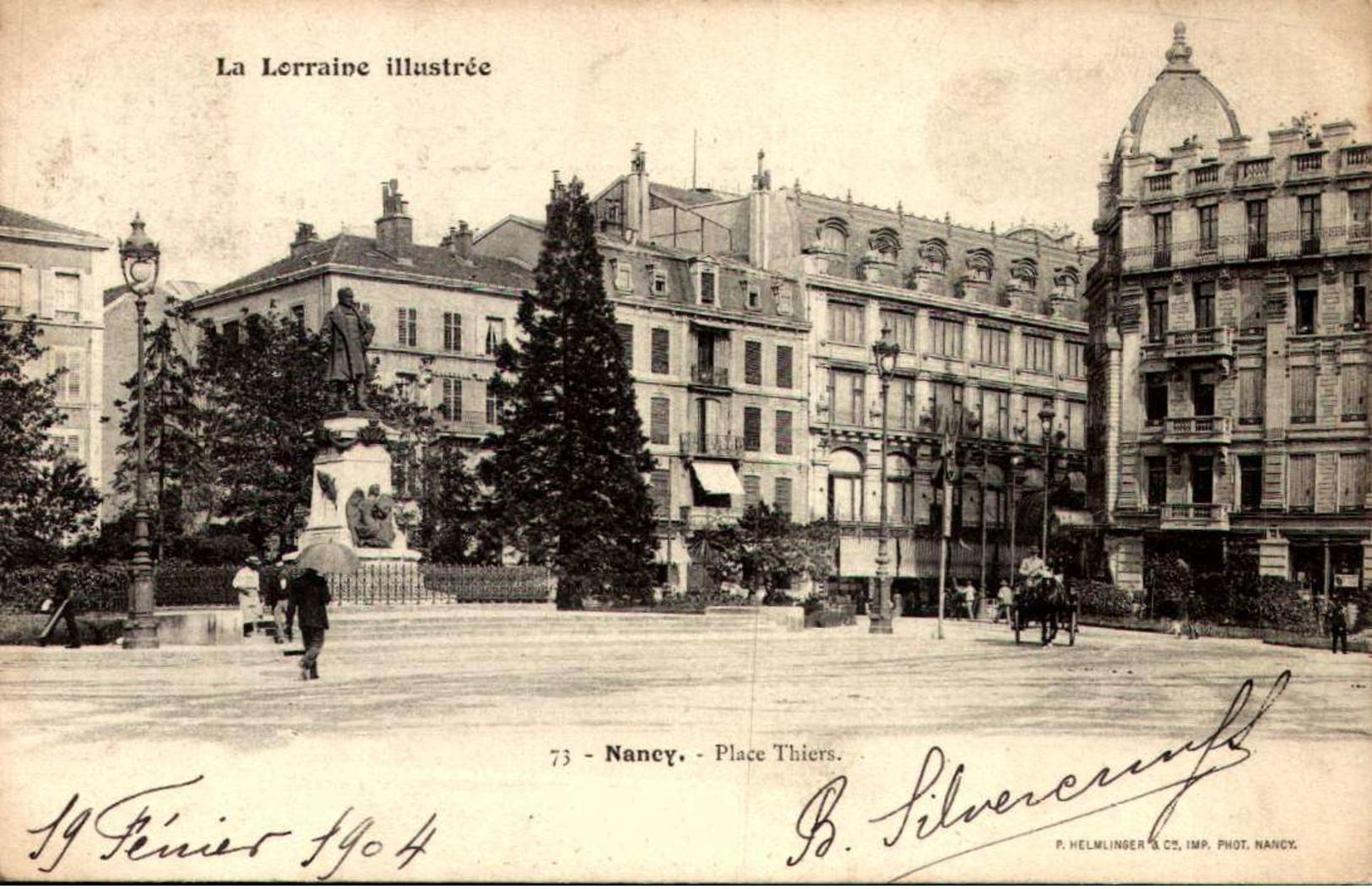 [54] Meurthe Et Moselle > Nancy /ATTELAGE  /LOT 3032 - Nancy
