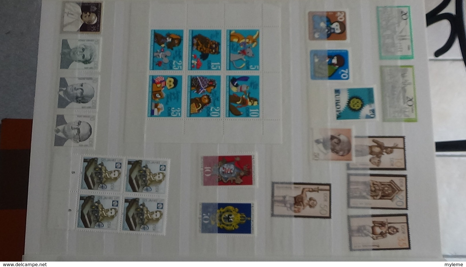 B376 Collection Timbres Et Blocs ** D'Allemagne. A Saisir !!! - Collections (with Albums)