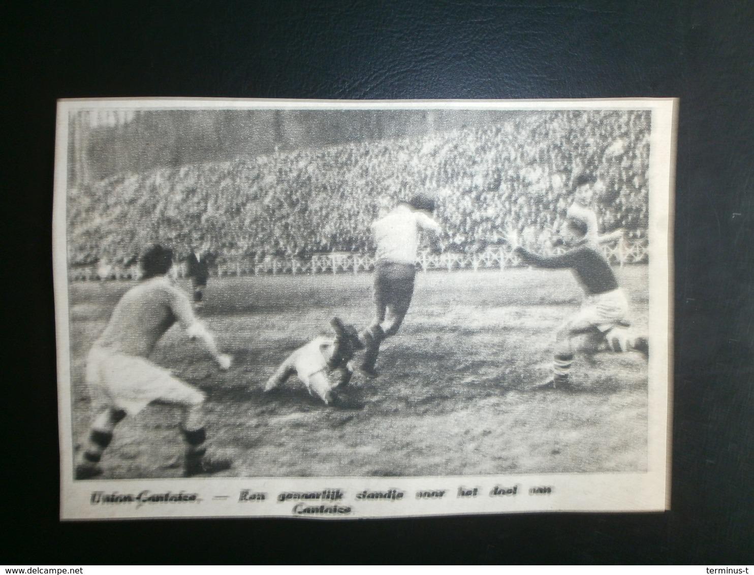Union-Gantoise. Voetbal 1947 - Documents Historiques
