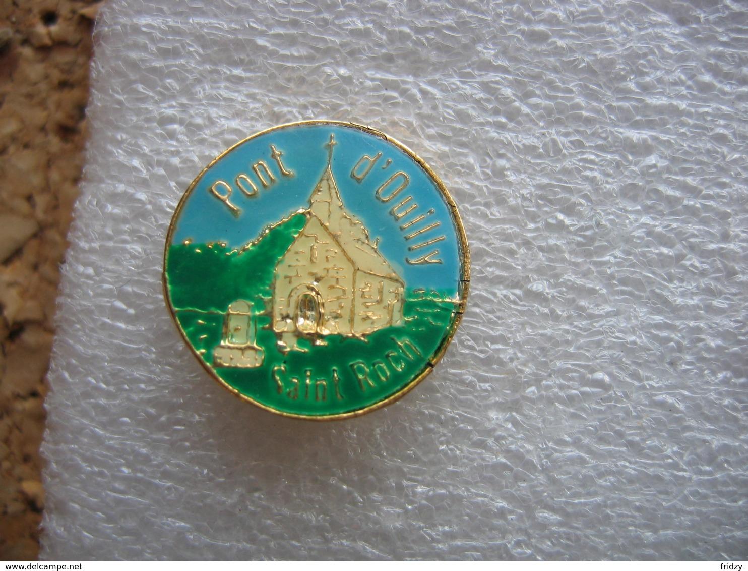 Pin's De La Chapelle Du Pont D'Ouilly, Fresques Saint Roch - Other