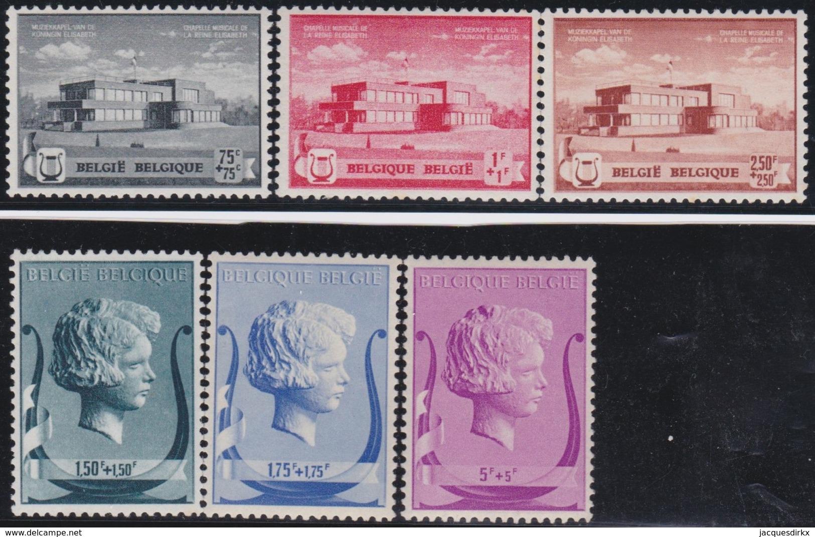 Belgie     .    OBP    .    532/537     .     **      .        Postfris   .   /   .   Neuf  SANS Charniere - Unused Stamps
