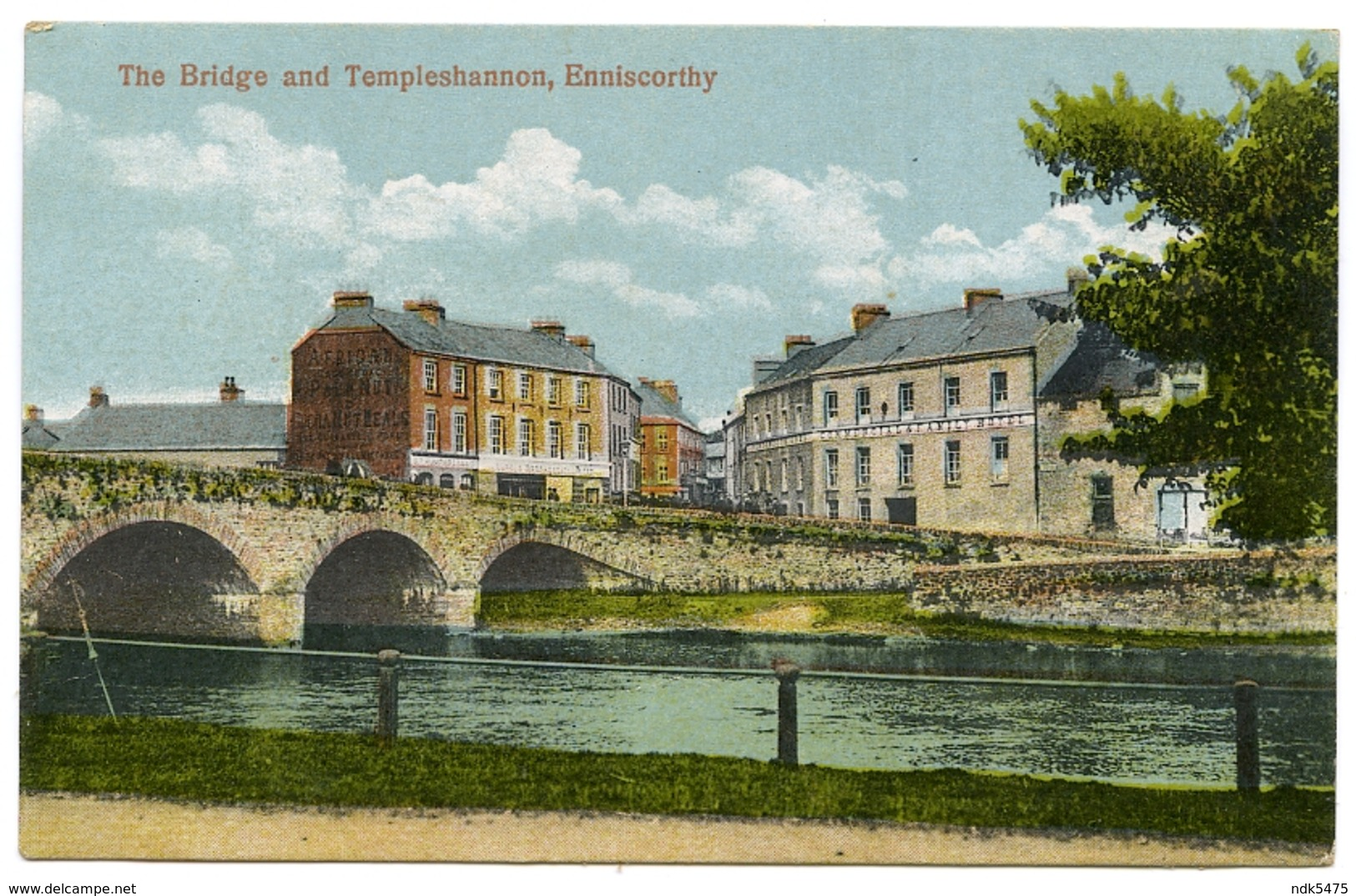 IRELAND : ENNISCORTHY - THE BRIDGE AND TEMPLESHANNON - Wexford
