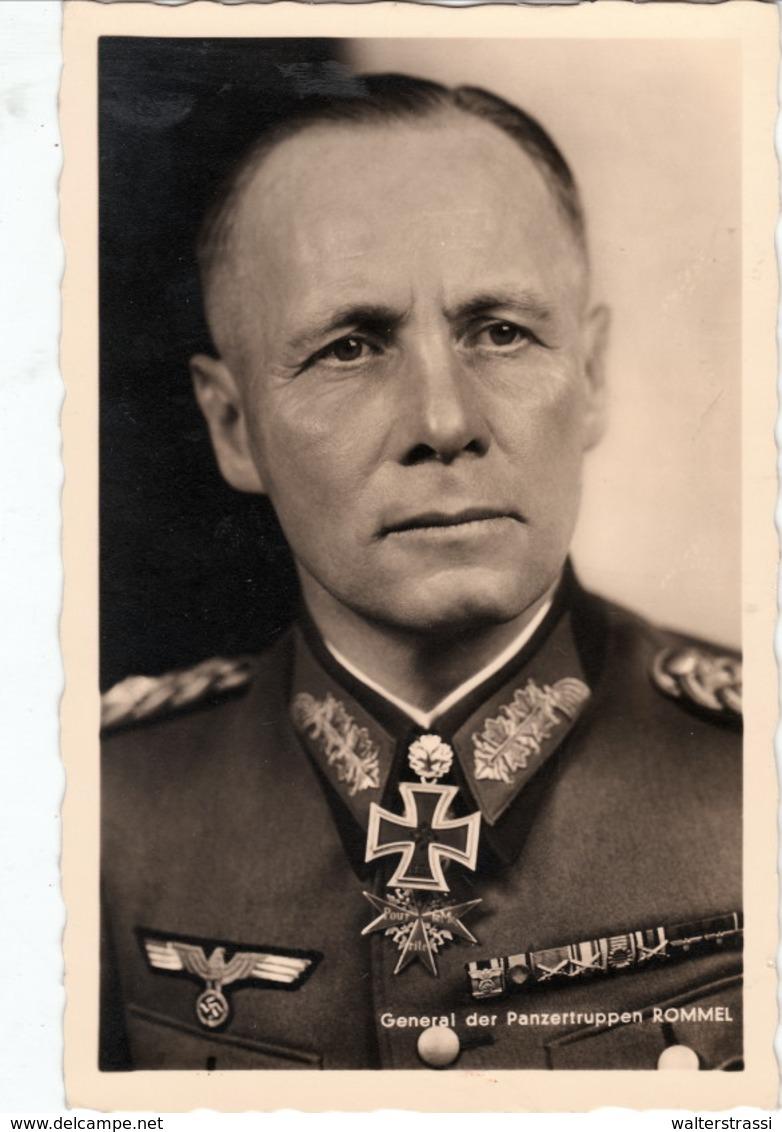 """III. Reich, """" General Der Panzertruppen ROMMEL """" - Guerre 1939-45"""