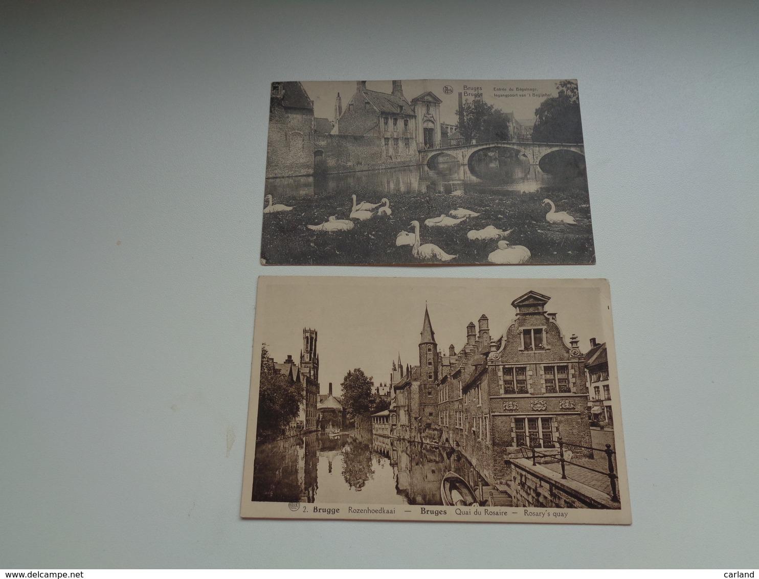 Beau Lot De 20 Cartes Postales De Belgique  Bruges      Mooi Lot Van 20 Postkaarten Van België  Brugge - 20 Scans - Cartes Postales