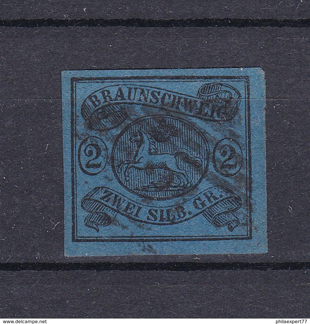 Braunschweig - 1853/56 - Michel Nr. 7 - Gest. - 80 Euro - Brunswick