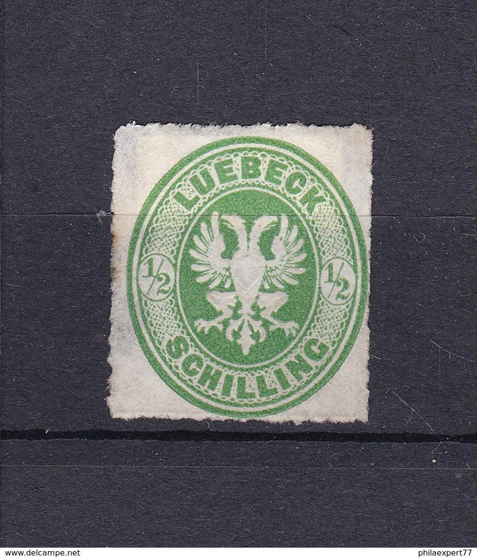 Lübeck - 1863/67 - Michel Nr. 8 A - Ungebr. - 20 Euro - Luebeck