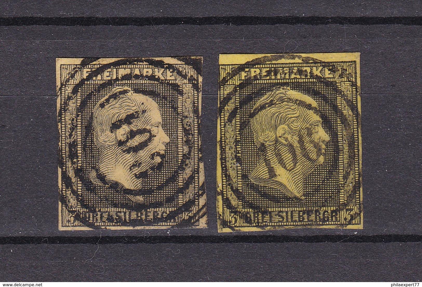 Preussen - 1850/51 - Michel Nr. 4 A/b - Gest. - 60 Euro - Prussia