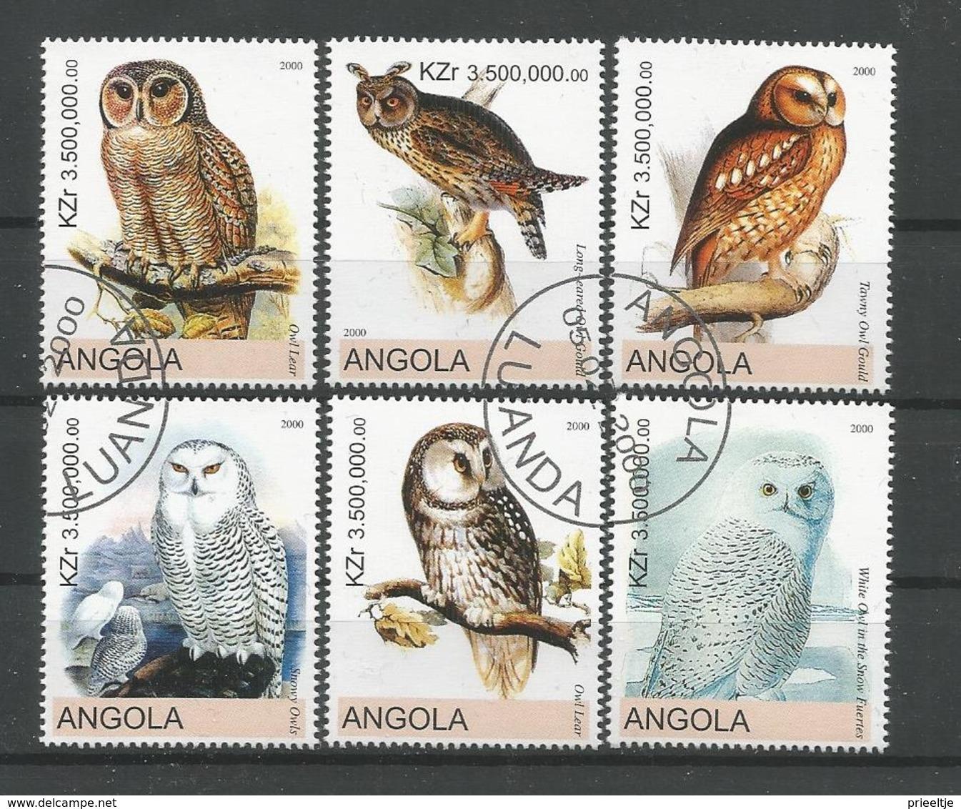 Angola 2000 Owls (0) - Uilen