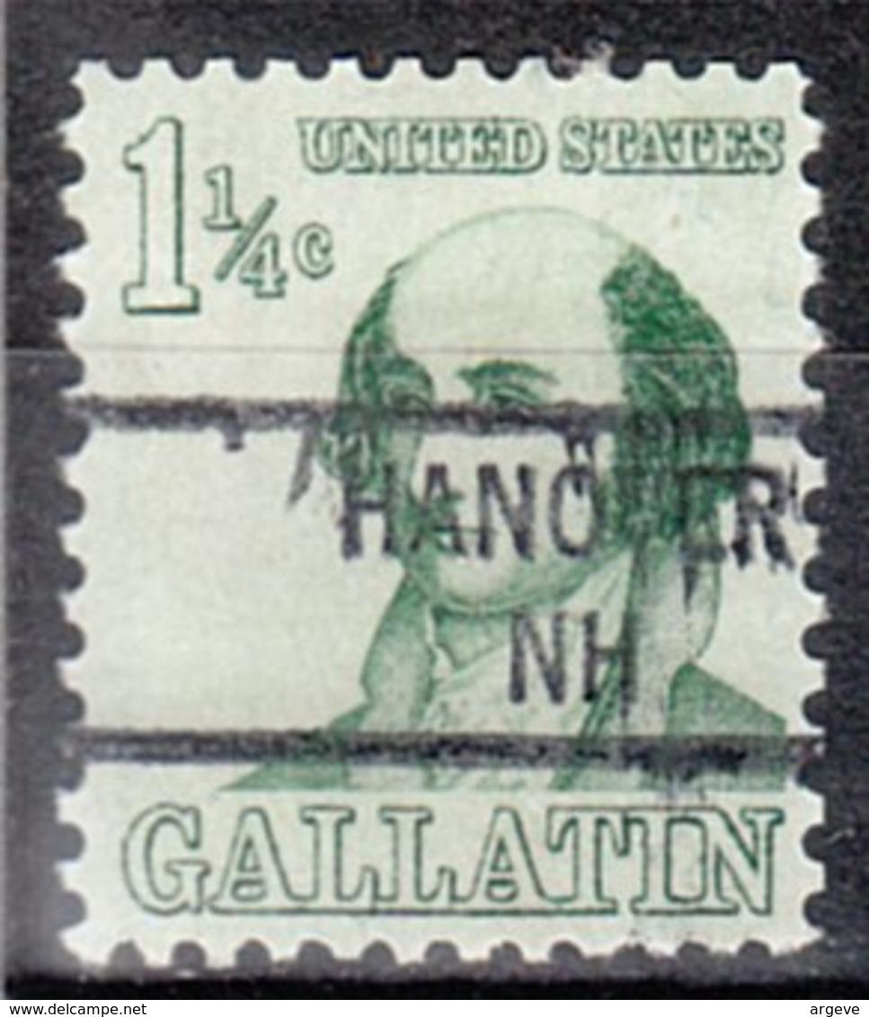 USA Precancel Vorausentwertung Preo, Locals New Hampshire, Hanover 841 - Vereinigte Staaten