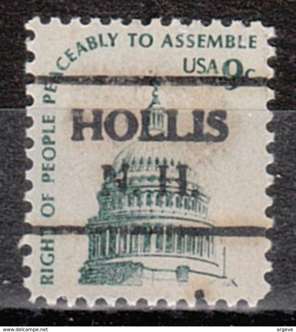 USA Precancel Vorausentwertung Preo, Locals New Hampshire, Hollis 716 - Vorausentwertungen