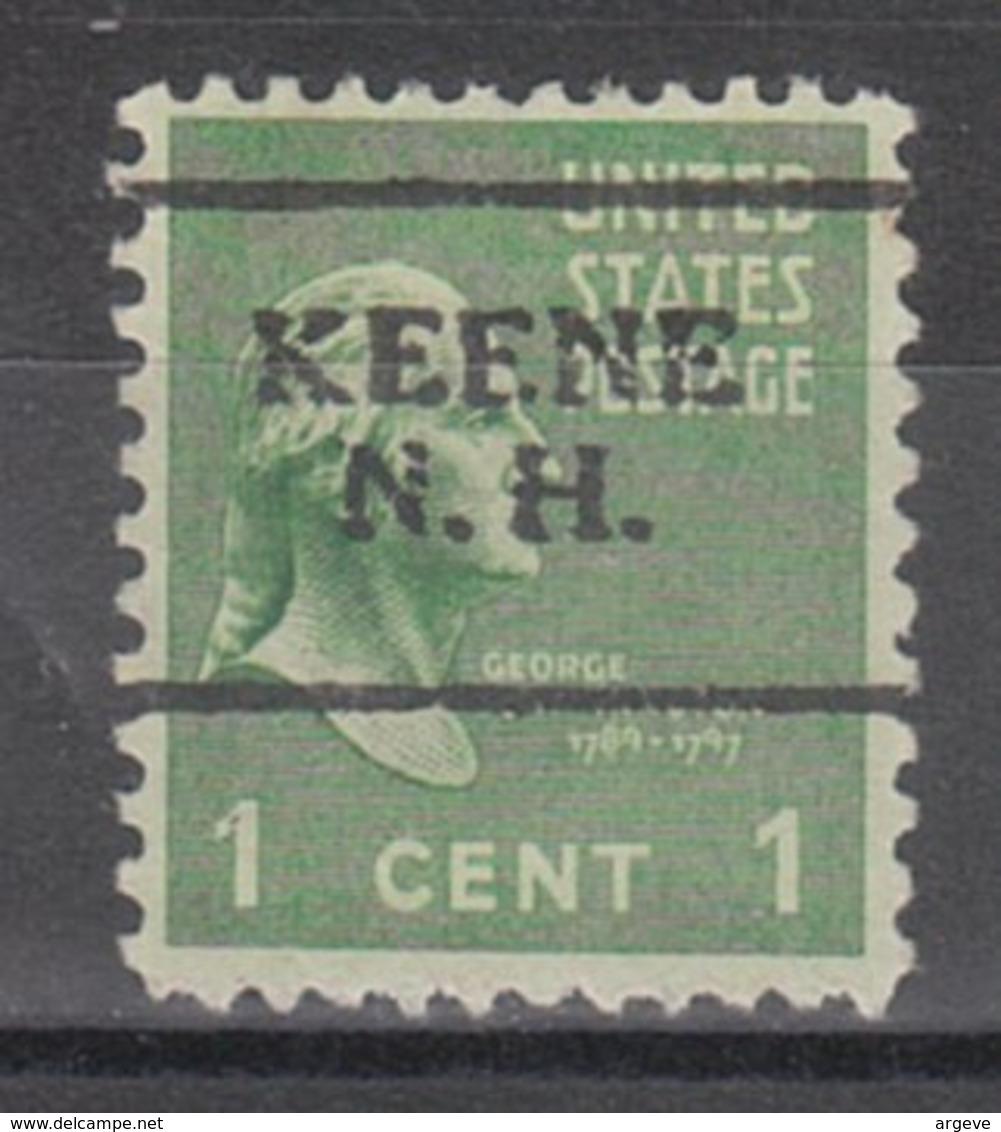 USA Precancel Vorausentwertung Preo, Locals New Hampshire, Keene 701 - Vereinigte Staaten