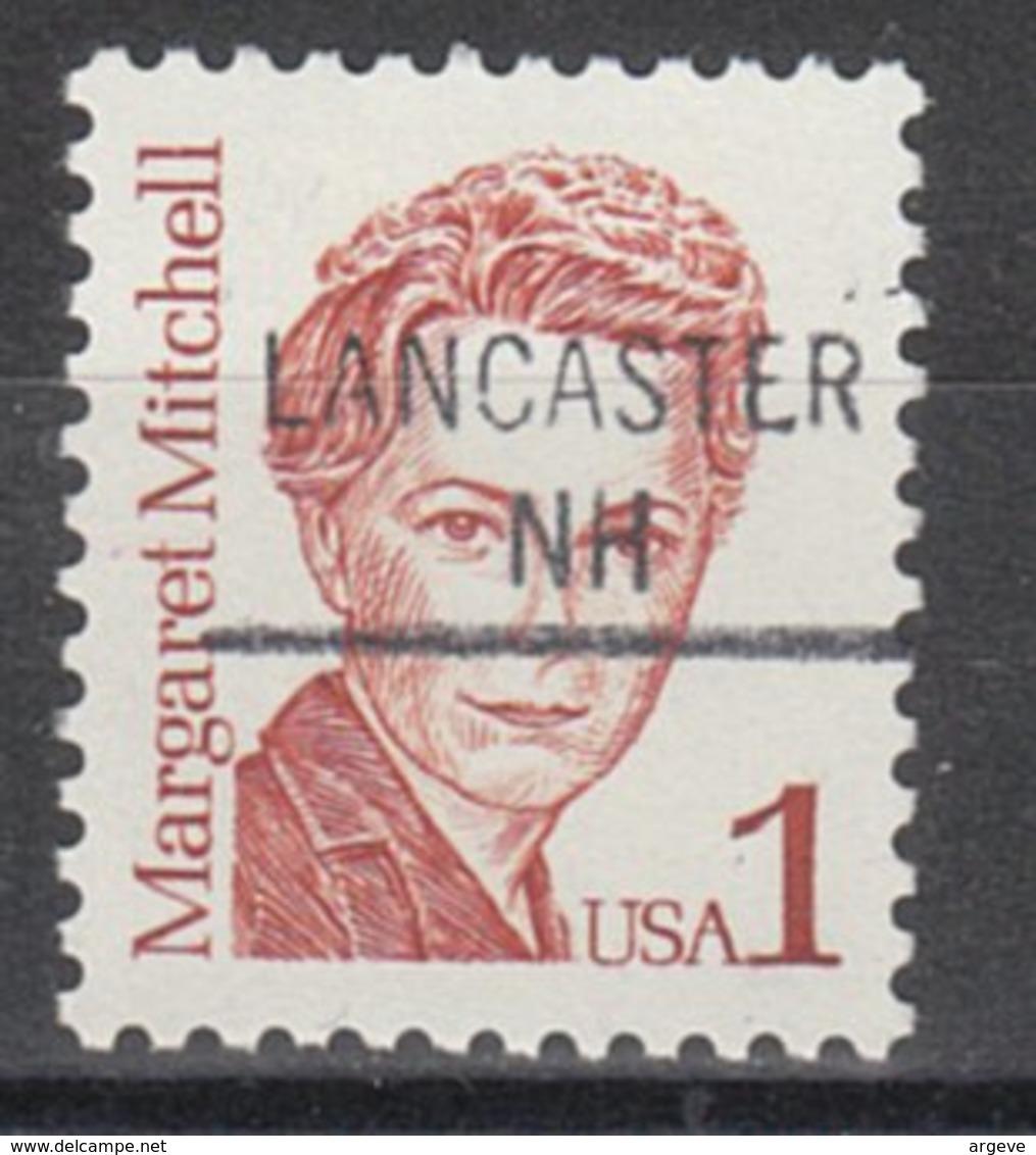 USA Precancel Vorausentwertung Preo, Locals New Hampshire, Lancaster 841 - United States