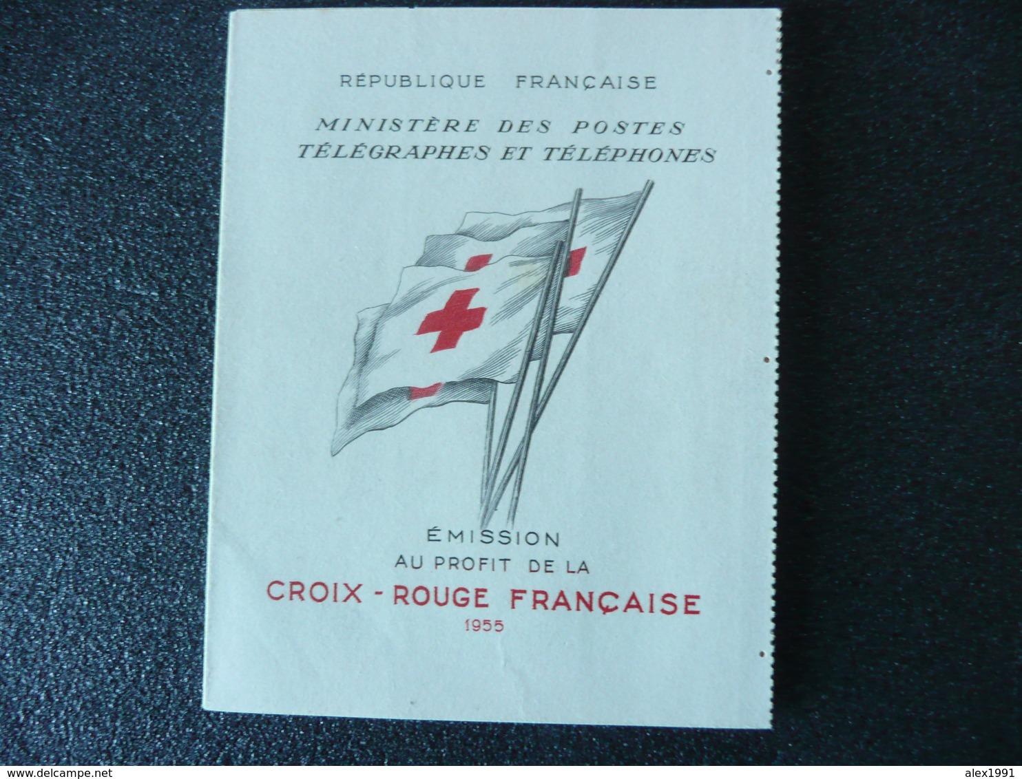 Carnet Croix Rouge 1955 - Libretti