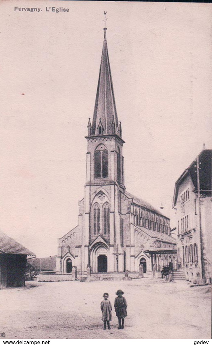 Farvagny FR, L'Eglise (201) - FR Fribourg