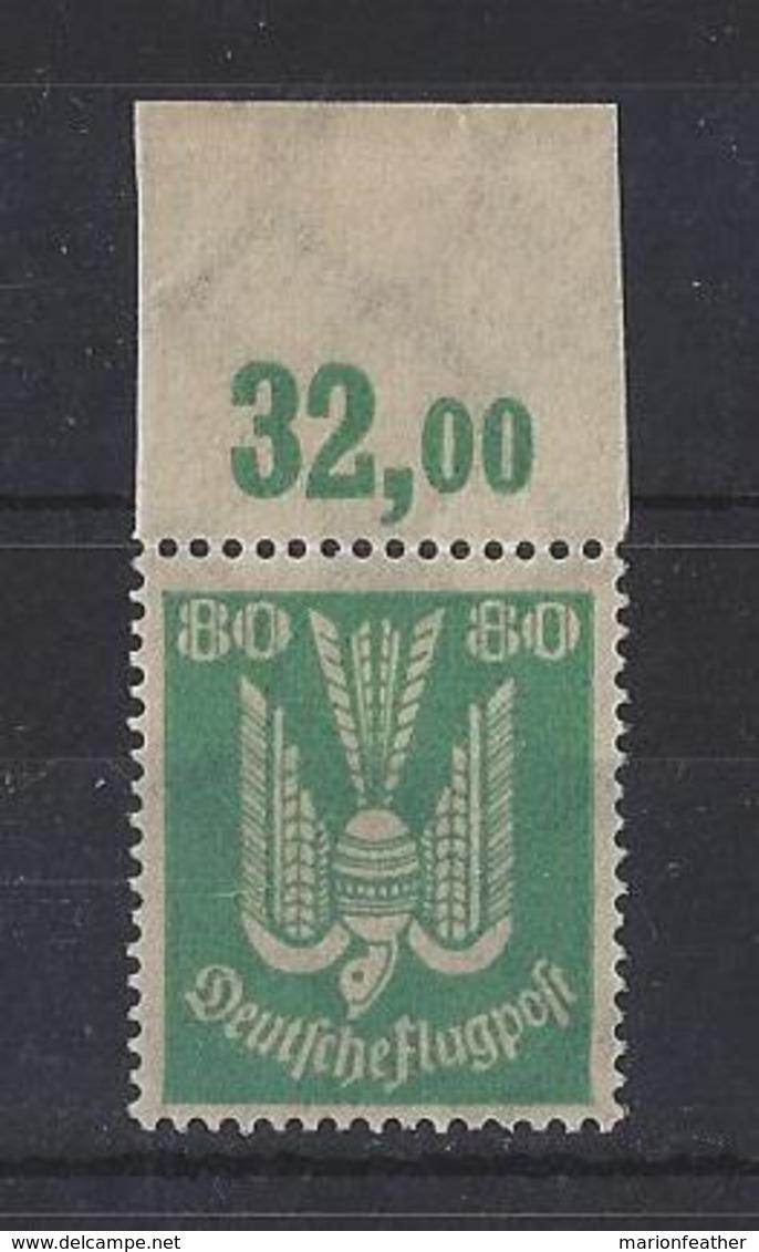 "GERMANY...WEIMAR...."" 1922 "".......AIR......MI214.....MARGINAL.........MNH.. - Neufs"
