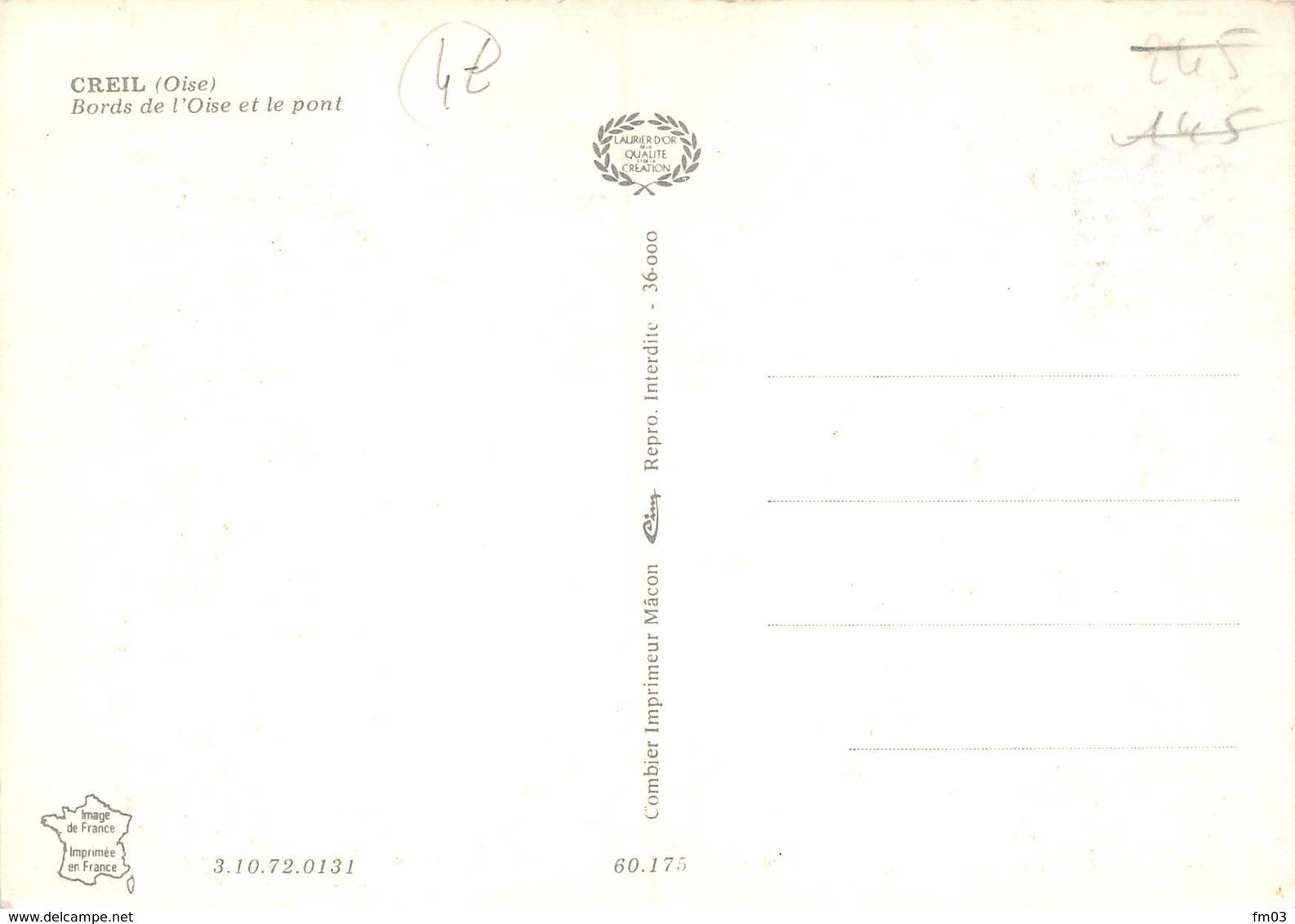 Creil Péniche Péniches Cim 131 - Creil