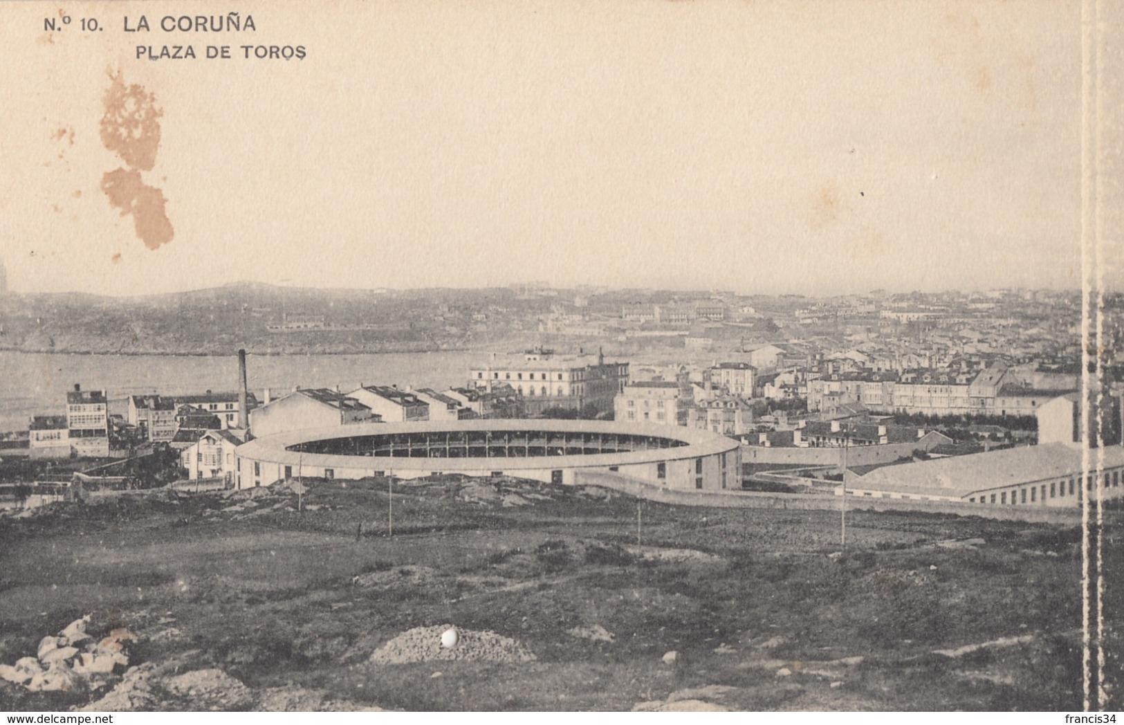 CPA - La Coruña - Plaza De Toros - La Coruña
