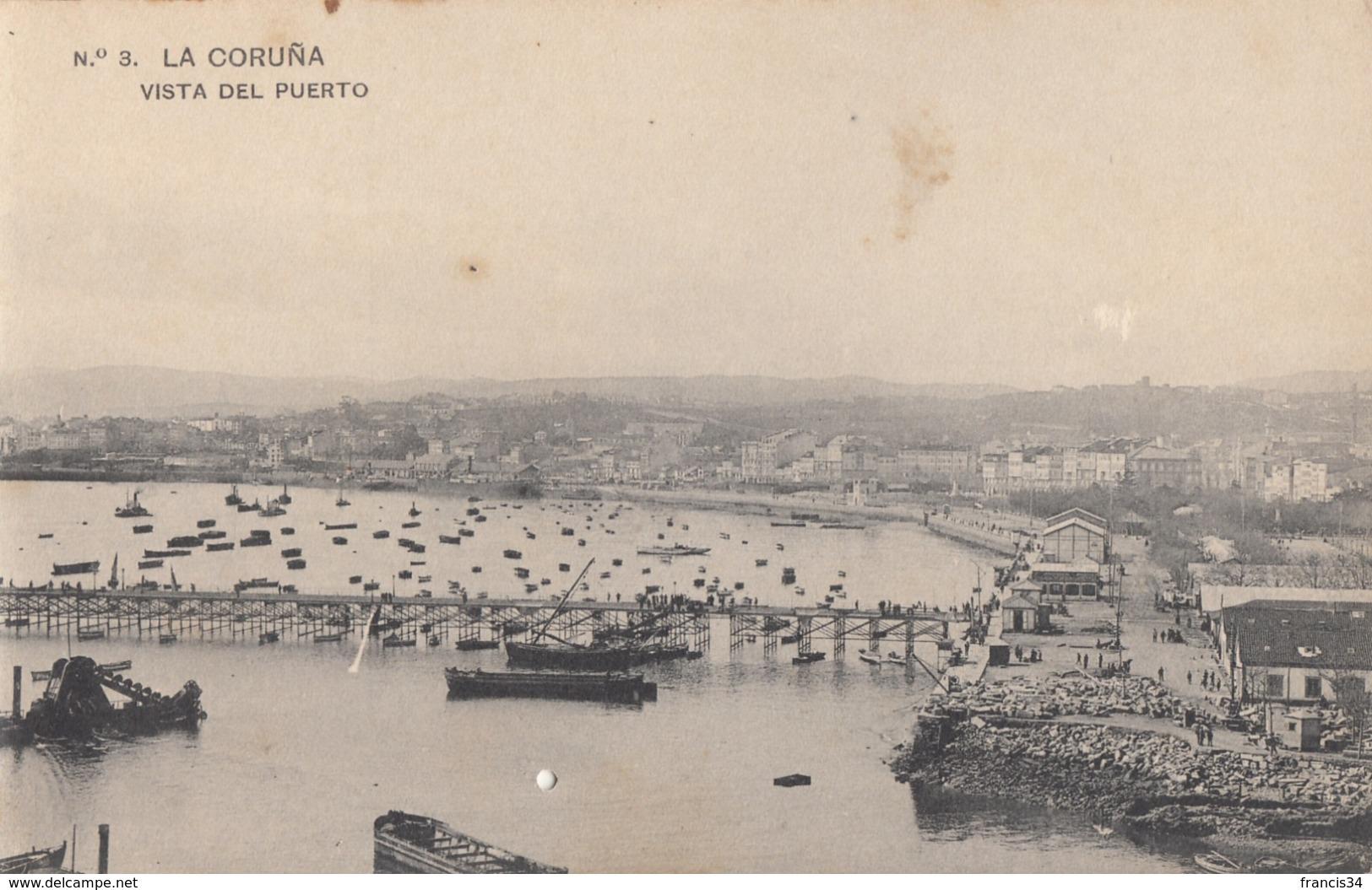 CPA - La Coruña - Vista Del Puerto - La Coruña