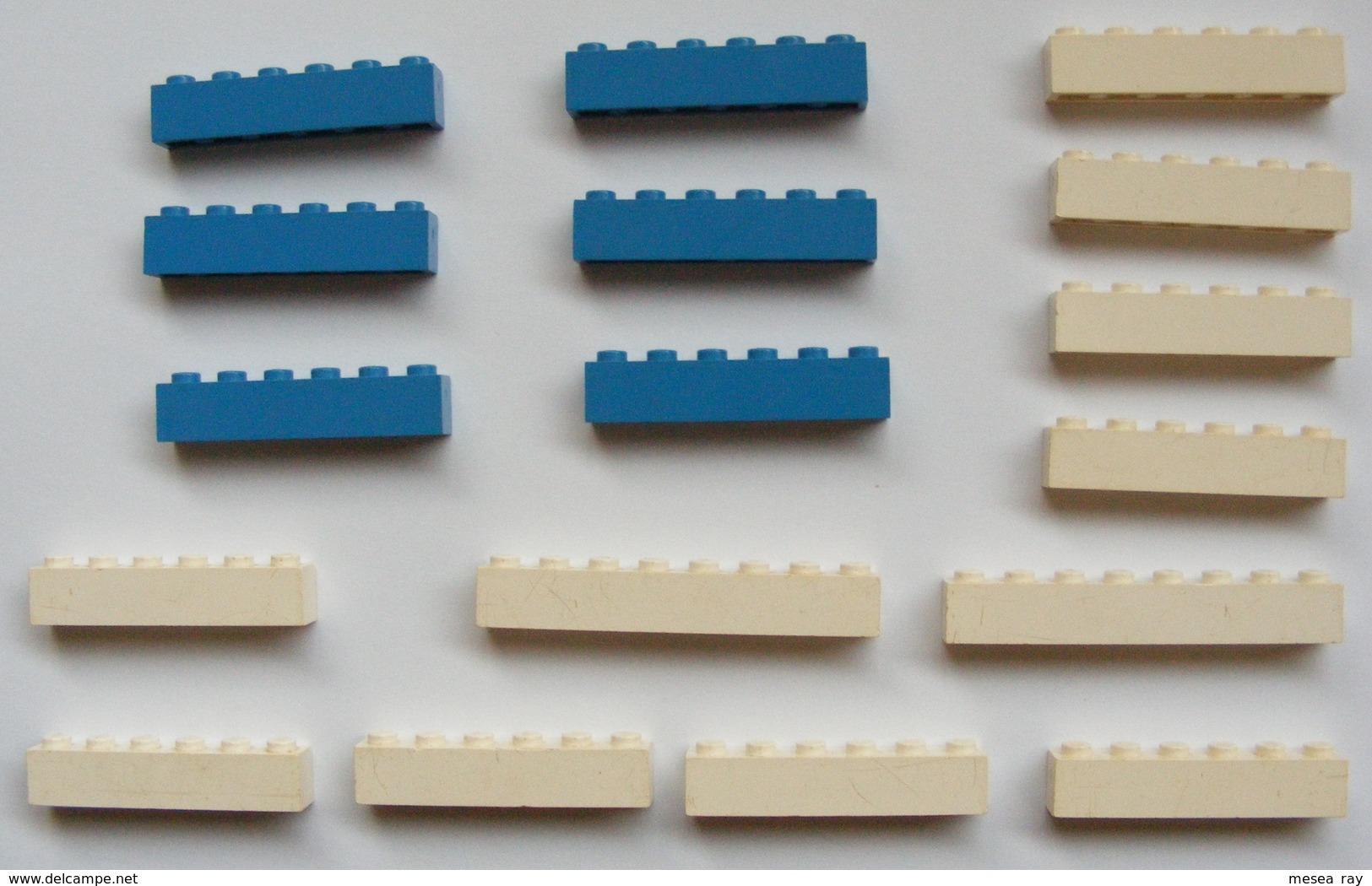 LEGO System Brick Vintage Label Philips Hamburg Basel Genova Shell Cinéma Etc... - Lego System