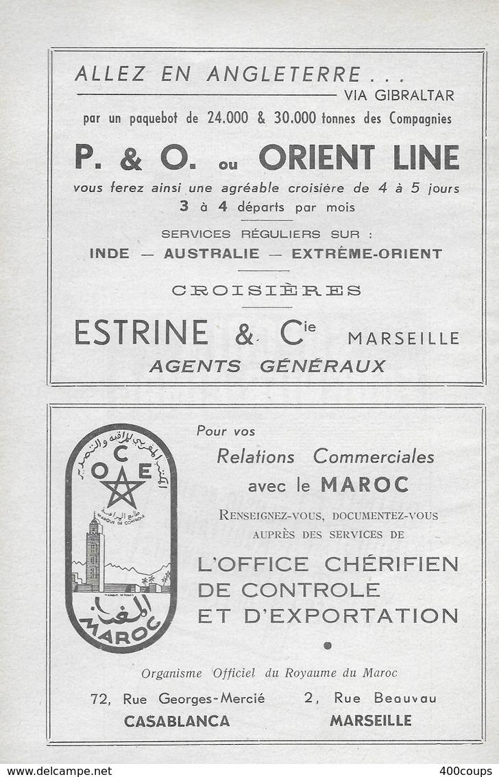Pub De 1959  - P. & O Ou ORIENT LINE - - Pubblicitari