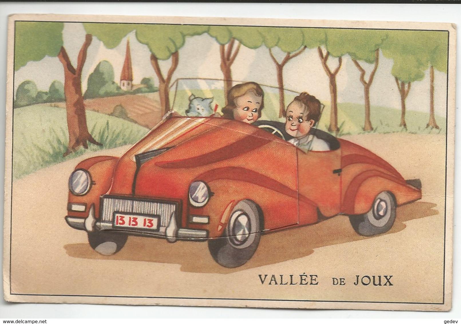 Suisse Vallée De Joux, Balade En Voiture, Carte à Système, 10 Minis Photos (65) - VD Vaud